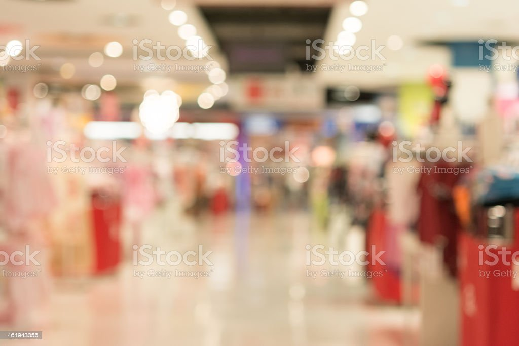 blurred store background stock photo