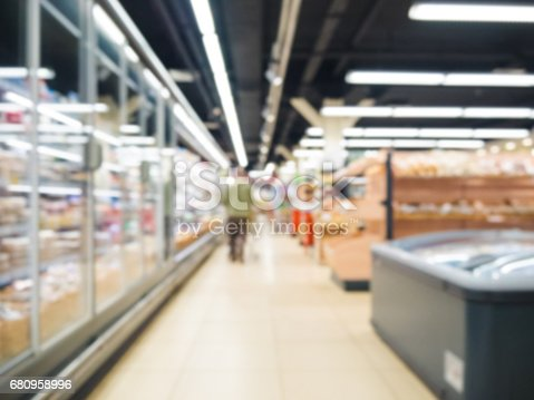 968898244 istock photo blurred supermarket aisle 680958996