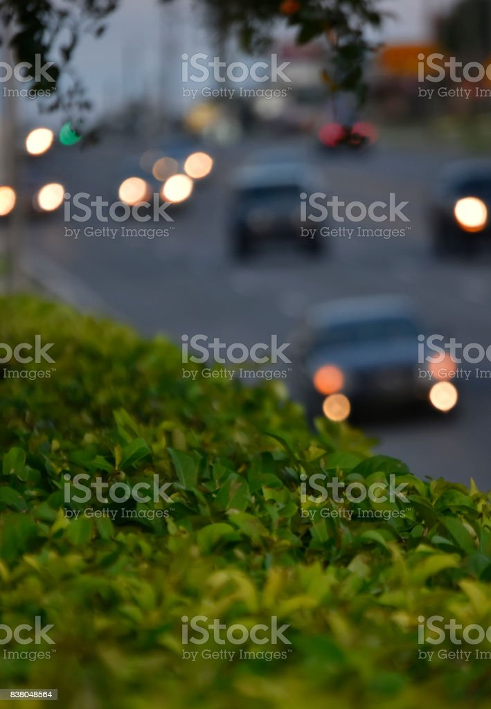 Blurred Traffic stock photo