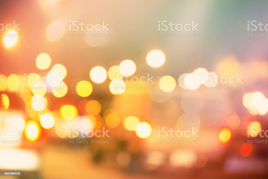 Blurred urban traffic background scene stock photo