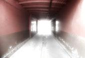 istock Blurred walkway 640347938
