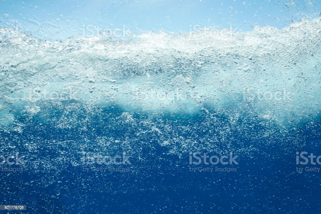 Blurred water background stock photo