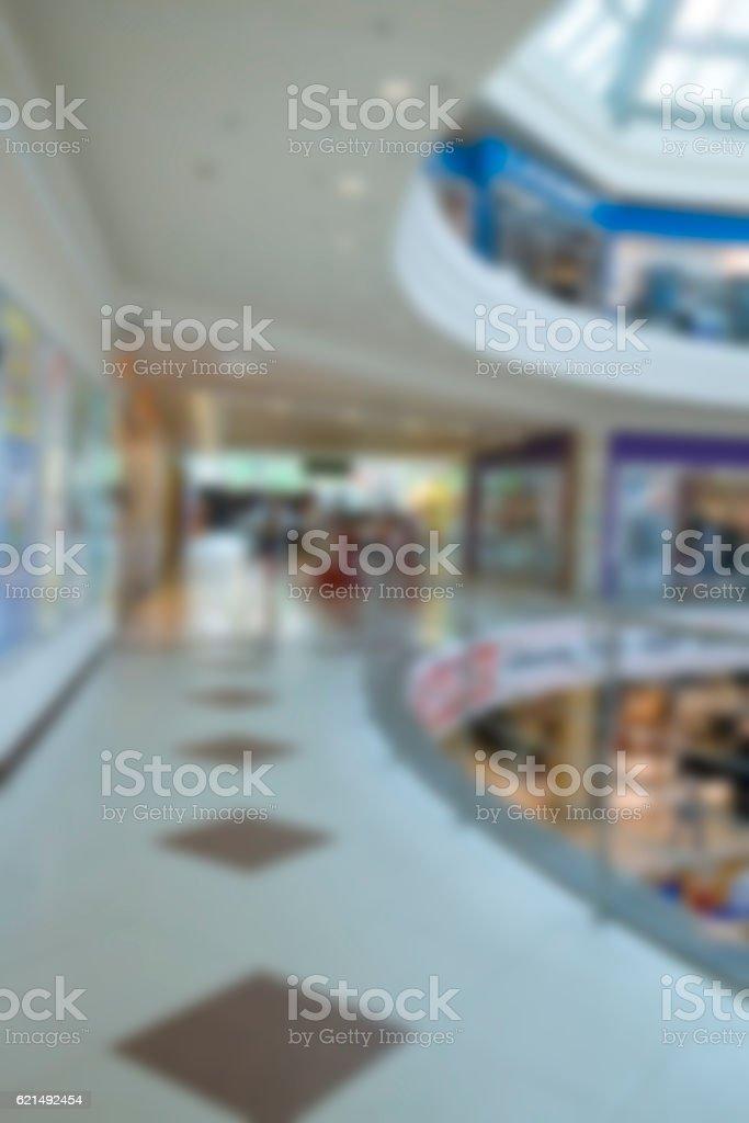 Blurring background. Modern shopping center. photo libre de droits