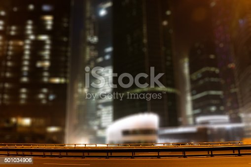 1154996700istockphoto Blurring the background to the city theme 501034906