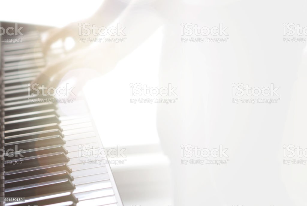 Piano and music concept