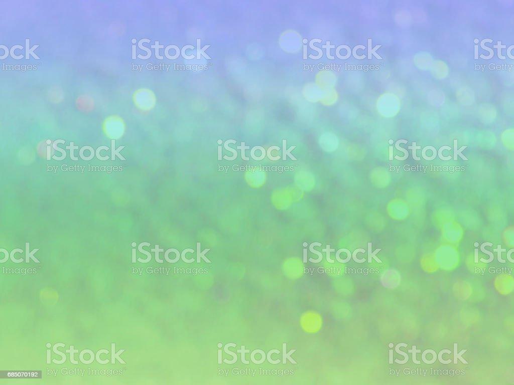 blurry background in vintage blue and green colors foto de stock libre de derechos