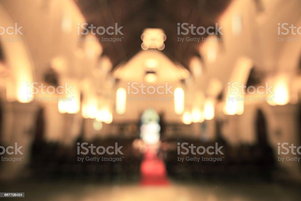 Interior iglesia fondo