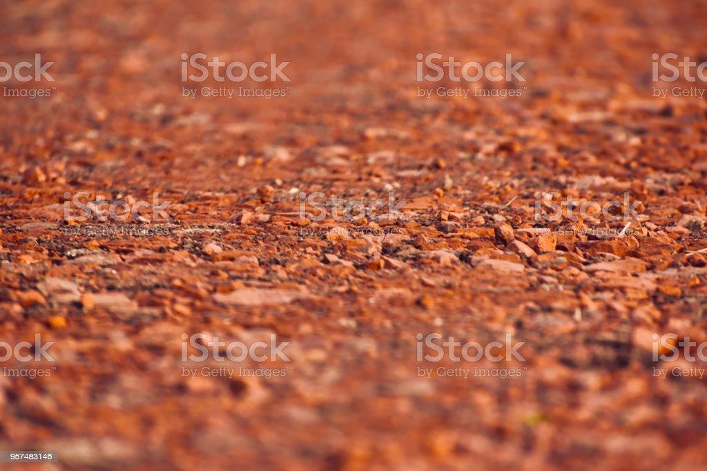 Blurry bricks made surface unique photo stock photo