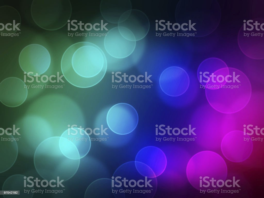 blurry dots royalty-free stock photo
