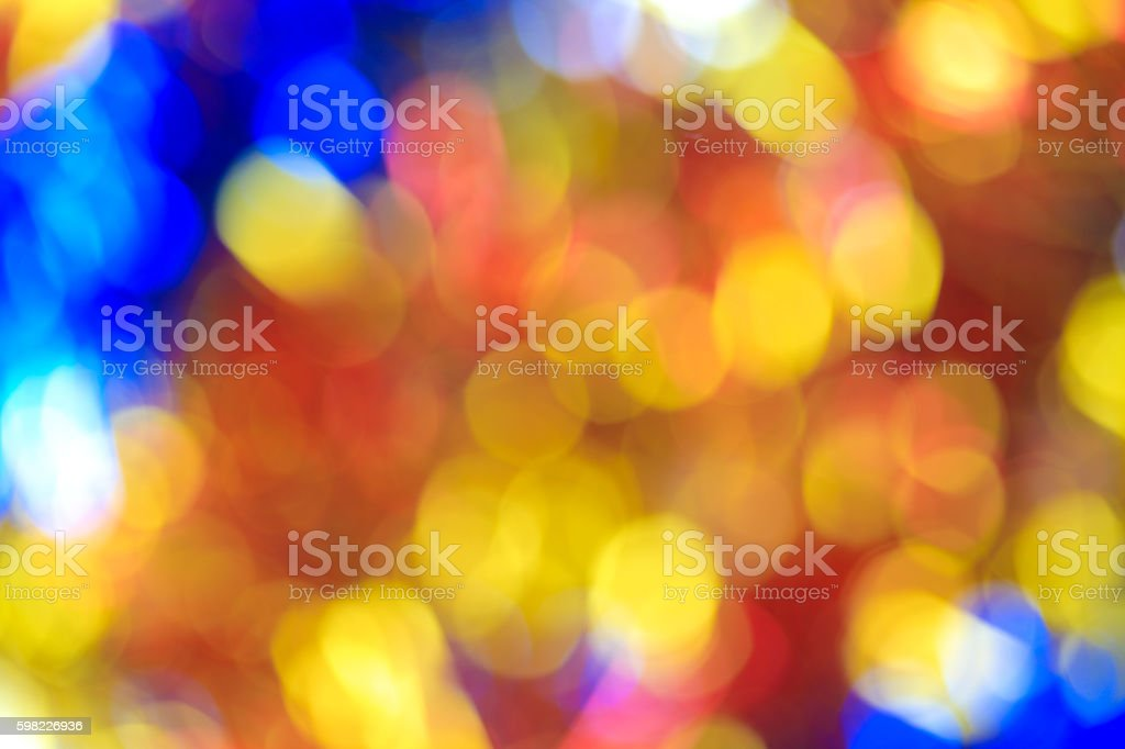 Blurry focus lighting color effects defocused background foto royalty-free