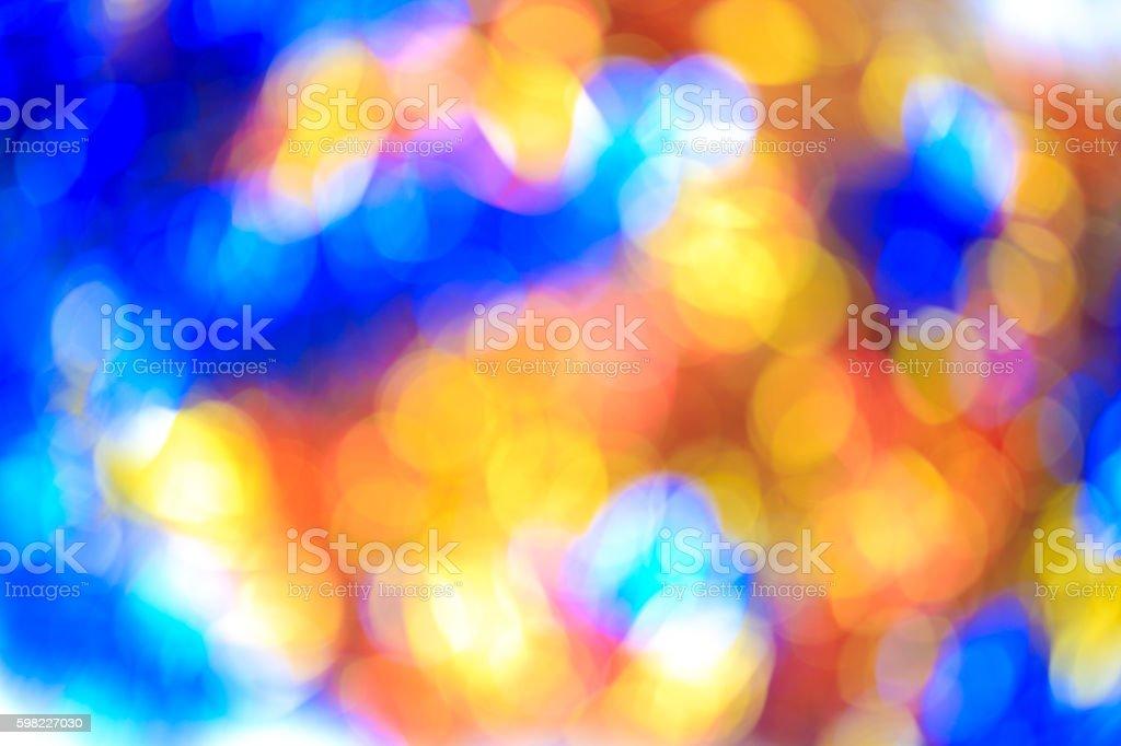 Blurry focus lighting color effects defocused background foto royalty-free