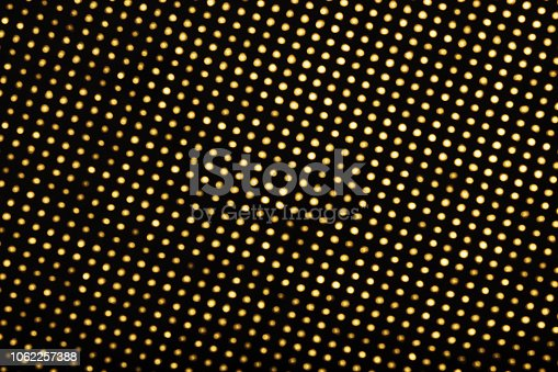 645448998 istock photo Blurry golden lights on black background 1062257388