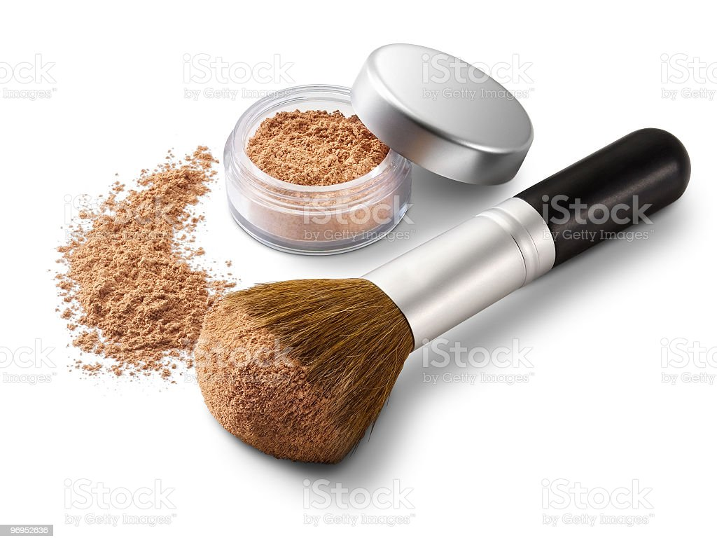 Blush Makeup stock photo