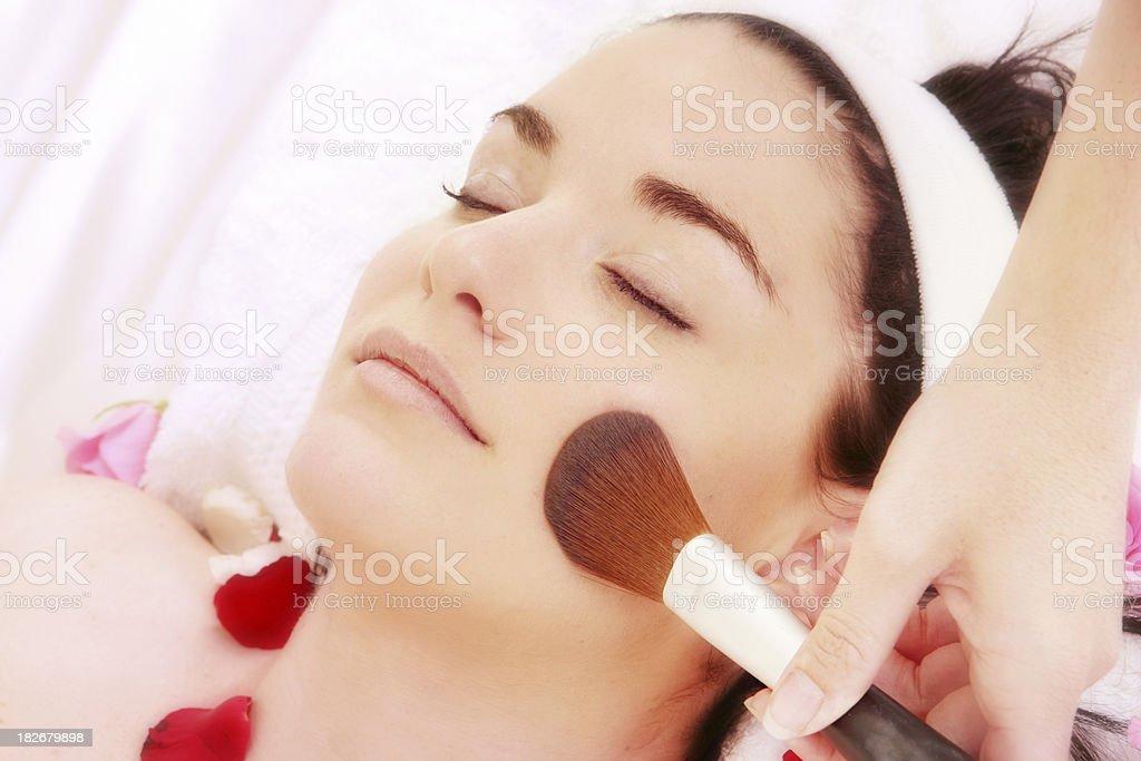Blusher Beauty royalty-free stock photo