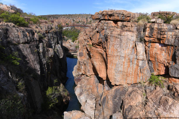 Blyde Canyon, South Africa stock photo