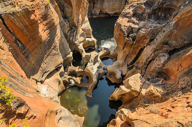 Blyde river Canyon, Mpumalanga region, South Africa stock photo