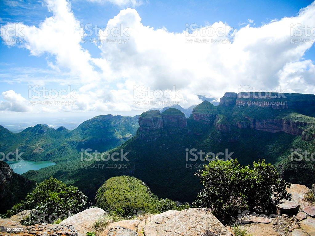 Blyde River Canyon, Mpumalanga, South Africa stock photo