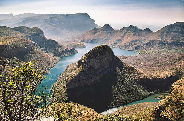 Blyde river canyon, Mpumalanga, South Africa stock photo