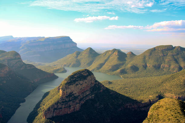 Blyde River Canyon, South Africa stock photo