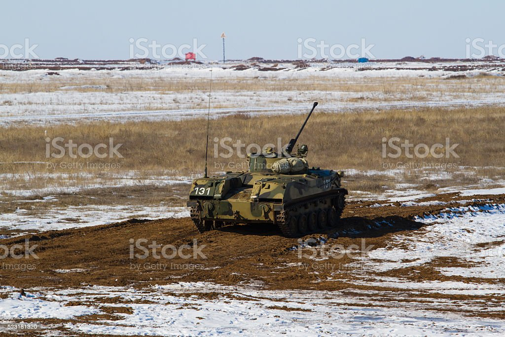 Bmp 3 armored vehicle stock photo