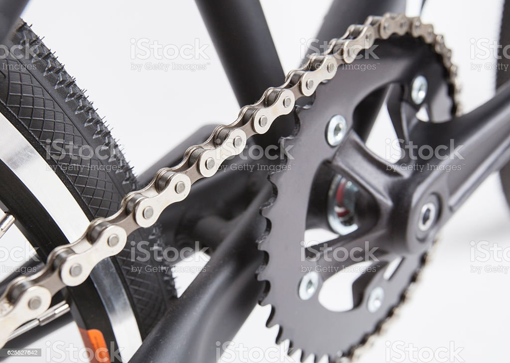 bmx bike part stock photo