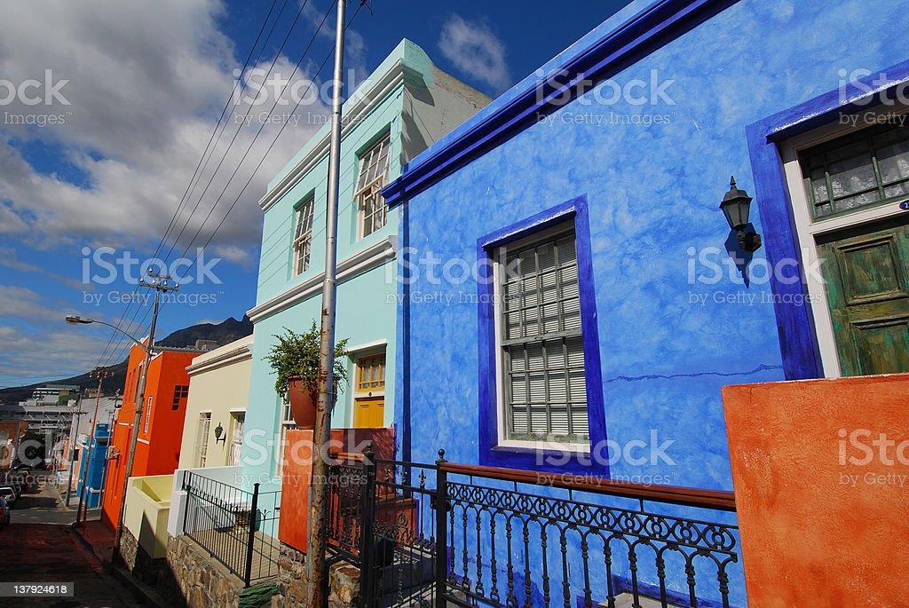 Bo- Kaap street stock photo