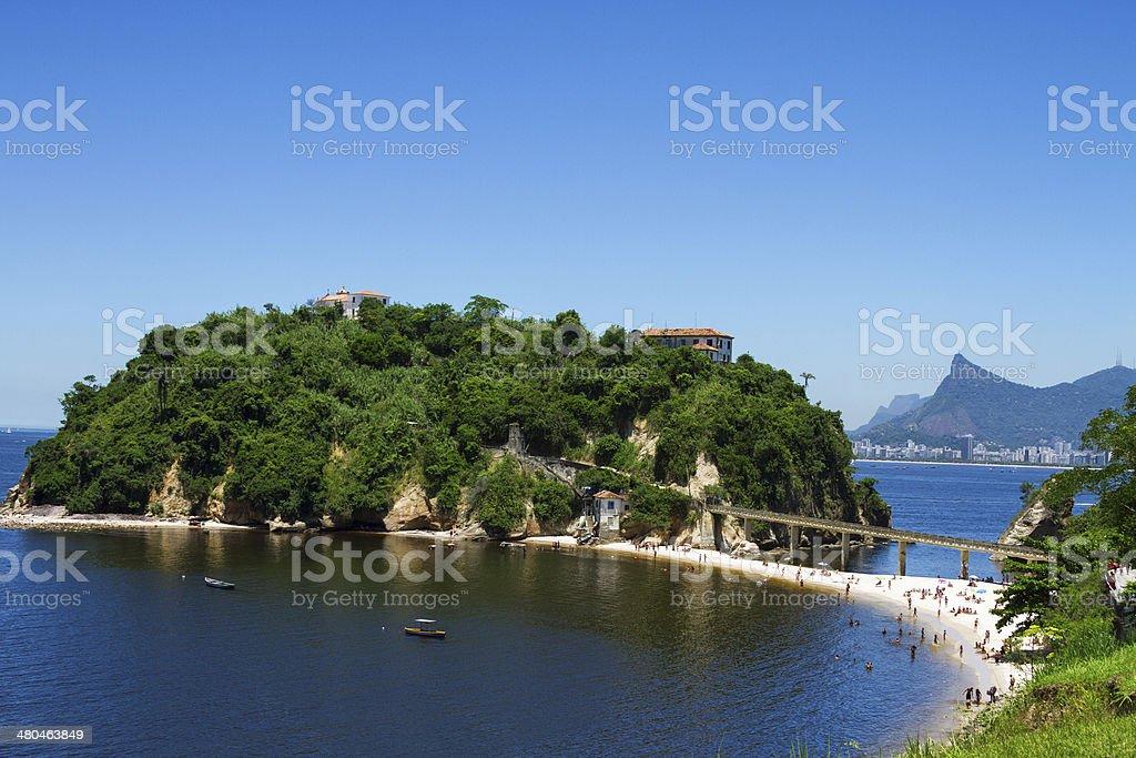 Boa Viagem Island stock photo