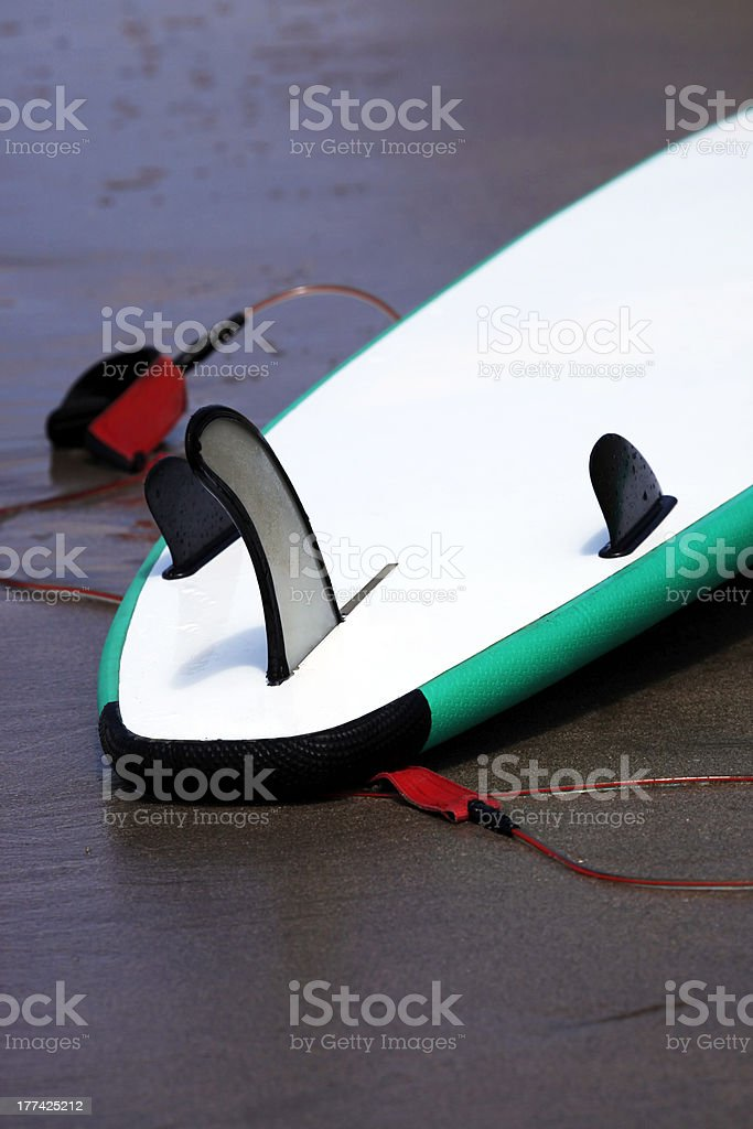 Board for surfing royalty-free stock photo