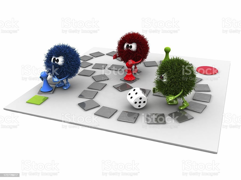 Board Game and Sphefurs royalty-free stock photo
