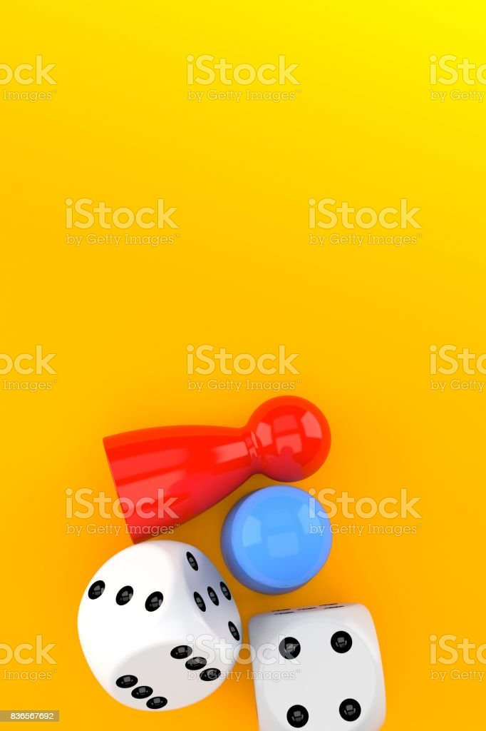 Board game concept stock photo