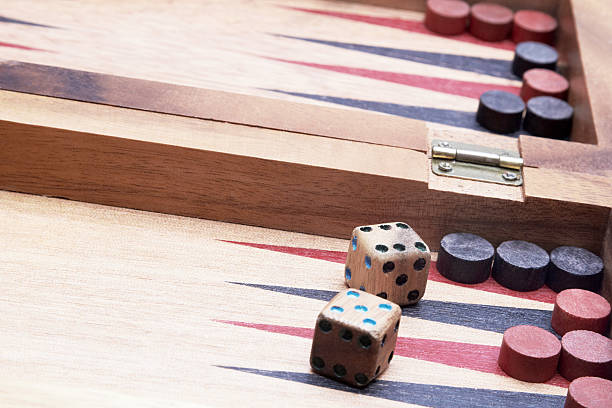 board game - backgammon stock pictures, royalty-free photos & images