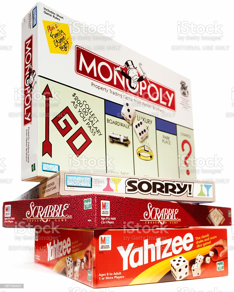 Board Games royalty-free stock photo