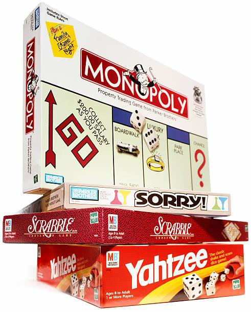 Board Games stock photo