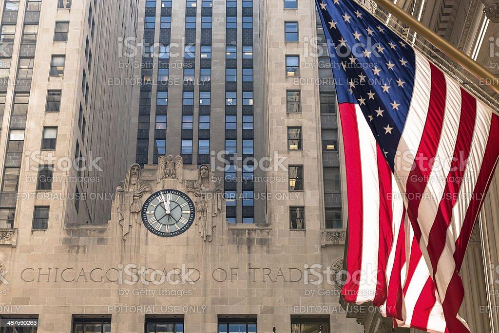 Board of Trade royalty-free stock photo