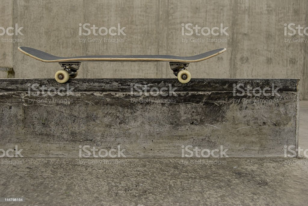 Board Resting royalty-free stock photo