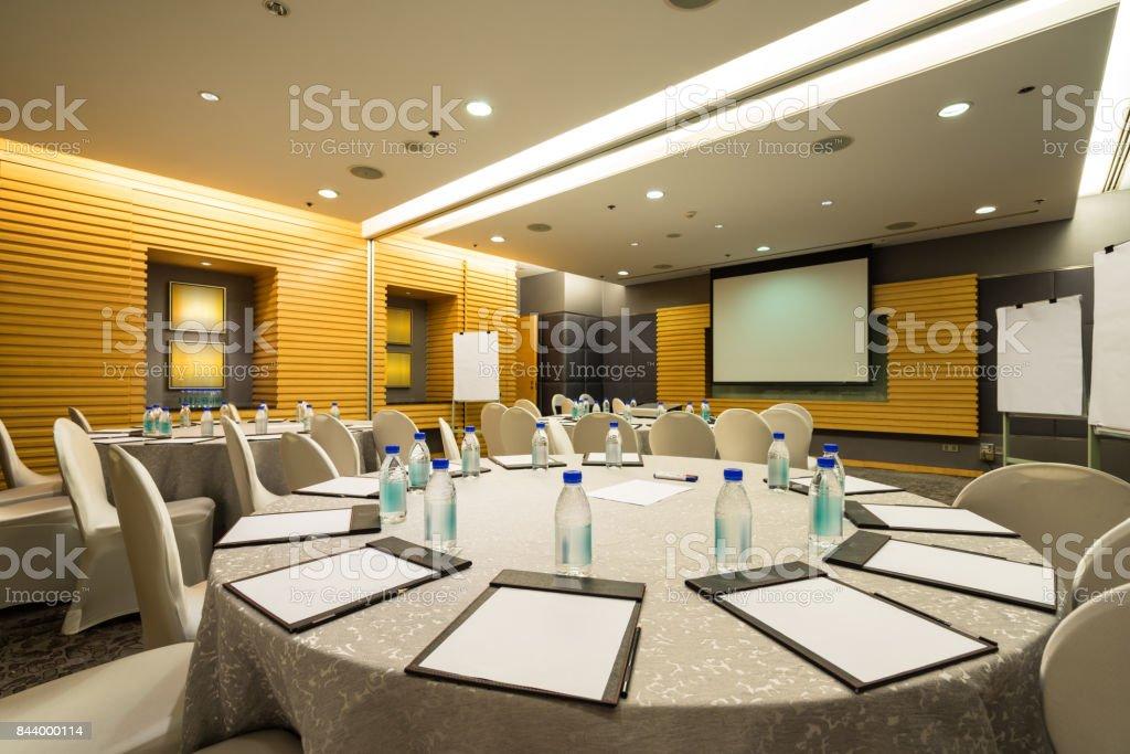 Board room interiors stock photo