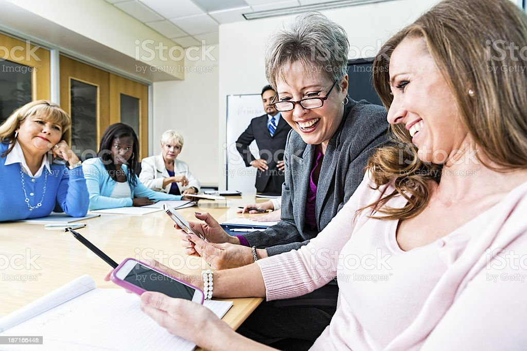 Board Room Manners stock photo
