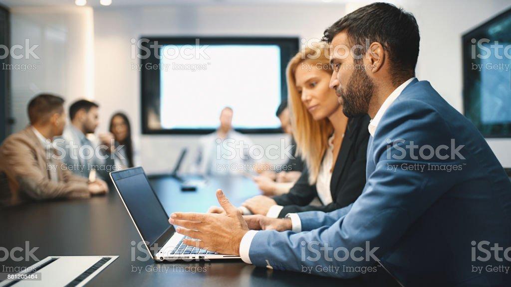 Vorstandssitzung der Zimmer. – Foto