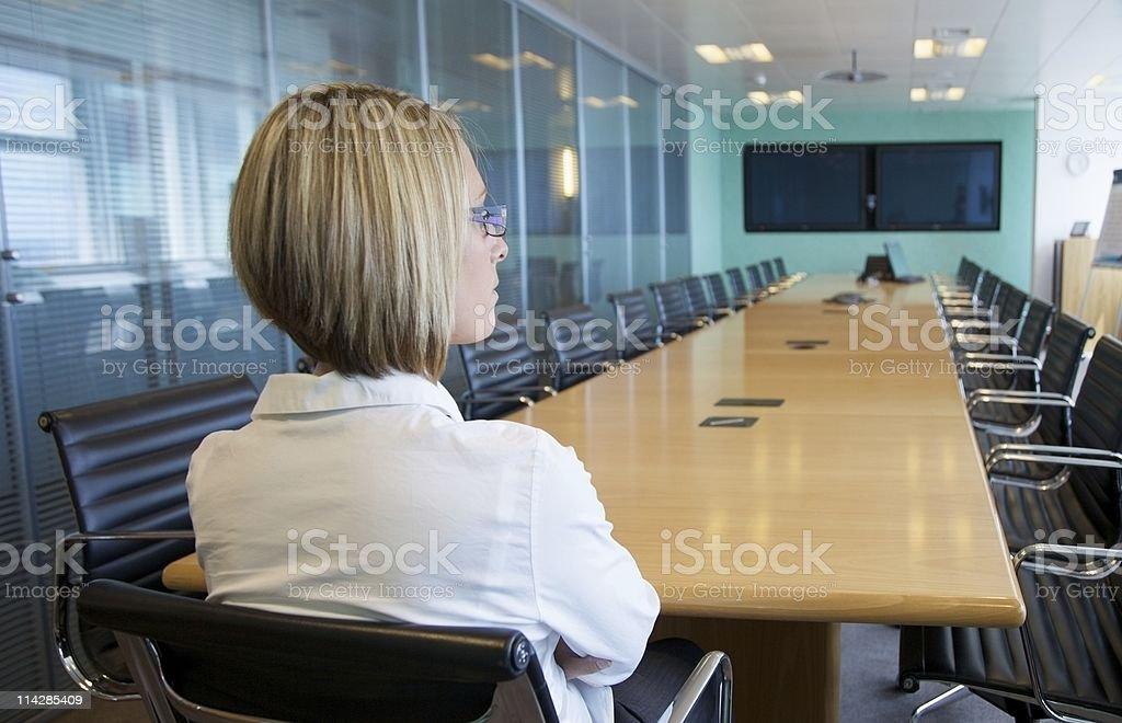 Board Room... royalty-free stock photo