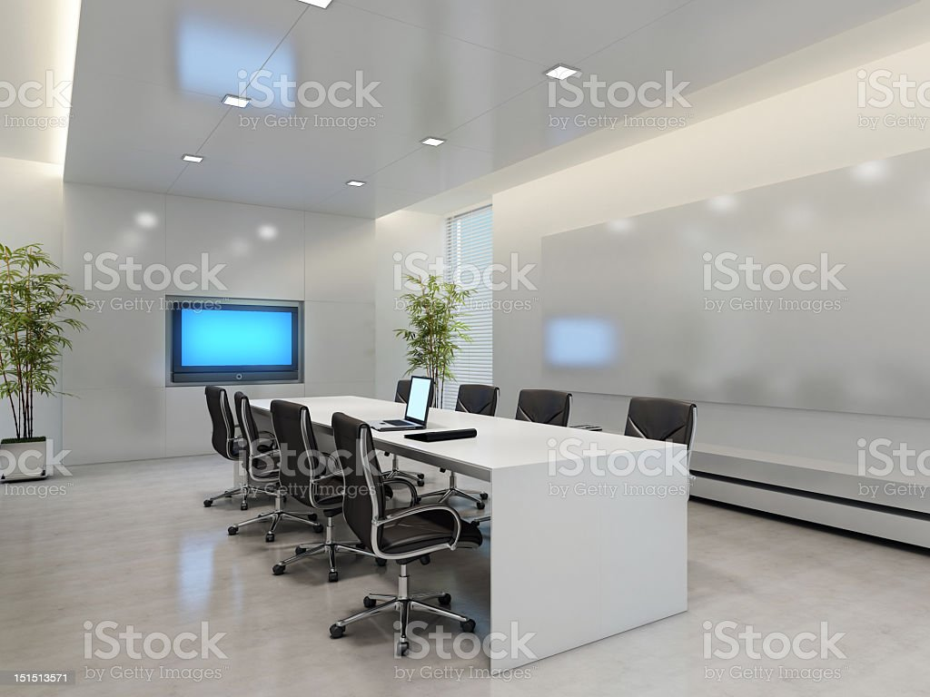Board Room stock photo