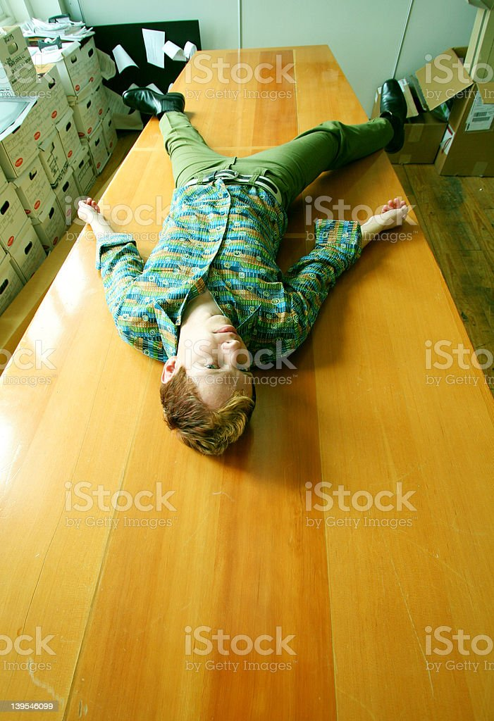 Board to Death royalty-free stock photo