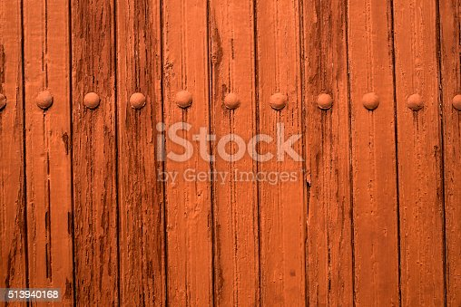 istock Board, traditional background in bright brown 513940168
