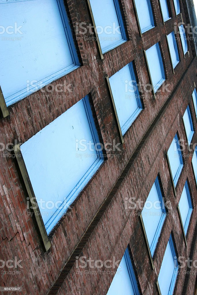 Boarded Color View royalty-free stock photo