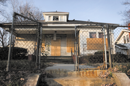 A home near Uptown Charlotte Awaiting renovations