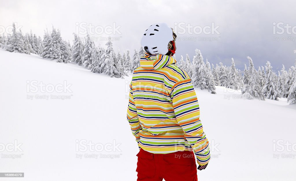 Boarder royalty-free stock photo