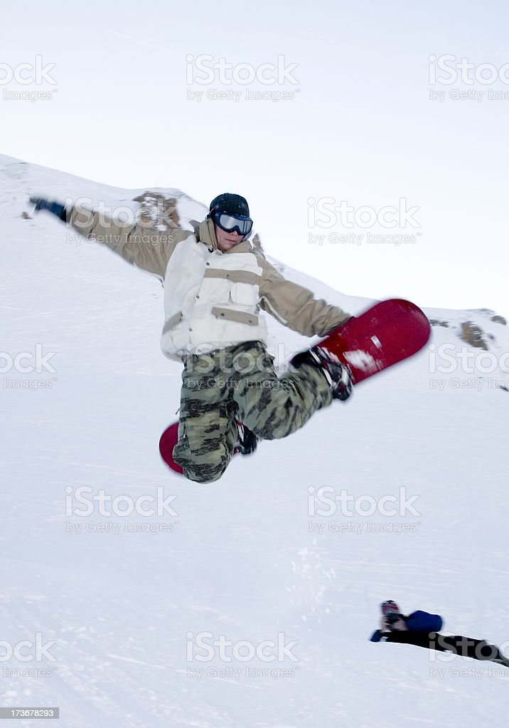 Boardercross stock photo