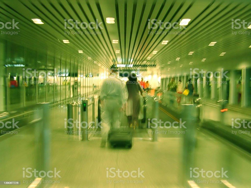 Boarding - Blur royalty-free stock photo