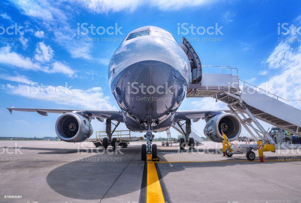boarding stock photo