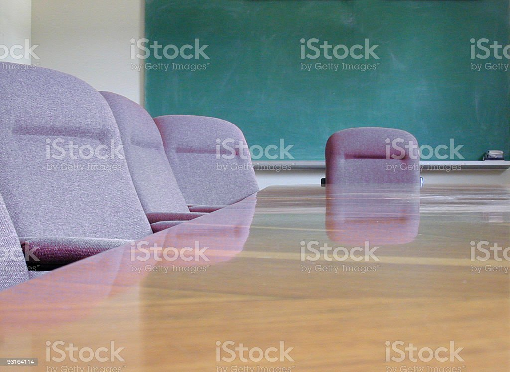 Boardroom 2 royalty-free stock photo