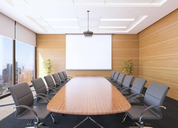 Boardroom Interior Boardroom Interior ( 3d render ) board room stock pictures, royalty-free photos & images